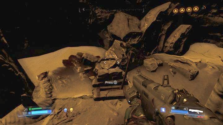 Там есть скрытый рычаг, который открывает Классическую карту - Кадингирский заповедник |  Секреты - Секреты - Руководство по игре в Doom и прохождение