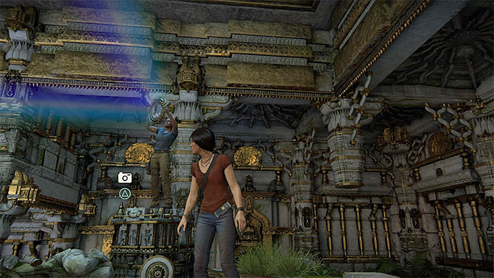 You can take the last photo in the chamber with prism and mirrors - 7. The Lost Legacy | All Secrets - Secrets - Uncharted: The Lost Legacy Game Guide