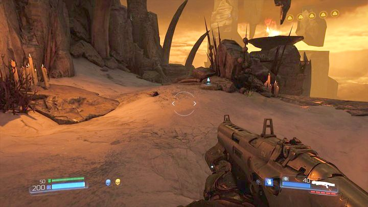 Последний журнал данных можно найти перед финальной битвой этого уровня - Kadingir Sanctum |  Секреты - Секреты - Руководство по игре в Doom и прохождение