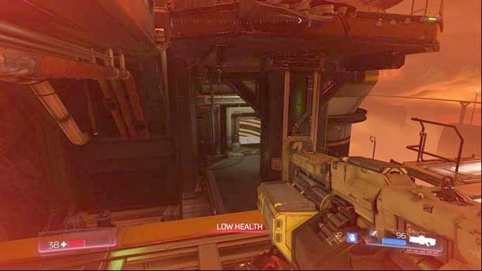 Сделав это, вы откроете Классическую карту, расположенную на один этаж ниже - Уничтоженный Серебряный Объект |  Секреты - Секреты - Руководство по игре в Doom и прохождение