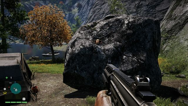 In the camp, locate a tent with a body lying next to it - Southern and central Kyrat - Yalungas Masks - Far Cry 4 - Game Guide and Walkthrough