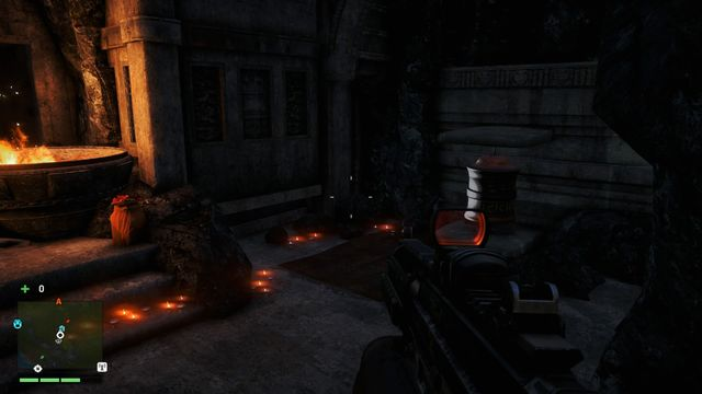 Inside a small cave, to the right of the statue - Southern and central Kyrat - Mani Wheels - Far Cry 4 - Game Guide and Walkthrough