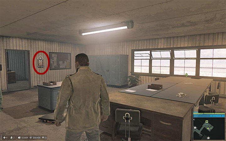 This painting can be found in the last building at the docks, at the start the location is occupied by gangsters, so it is worth it to hold off its exploration until it is taken over - Vargas paintings   Secrets - Secrets - Mafia III Game Guide