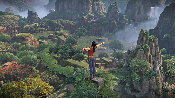 Keep climbing, because you have to reach the top of the tower (screenshot 1) - Your Prize Trophy | Trophy Guide - Trophy Guide - Uncharted: The Lost Legacy Game Guide