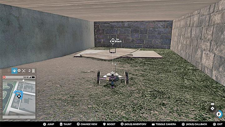Эта точка находится в секретной области внутри здания - Точки исследования - карта, локации 1-61 - Коллекционирование - Руководство по игре Watch Dogs 2