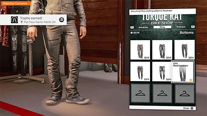 Посетите любой магазин, который предлагает штаны - Watch Dogs 2 Список достижений / трофеев - Основы - Watch Dogs 2 Game Guide