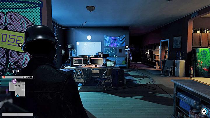 Пример хакерского пространства - они расположены в нескольких местах по всему городу - Общие советы - Основы - Руководство по игре Watch Dogs 2