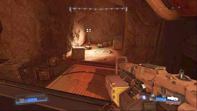 Слева от входа на классическую карту есть еще одна платформа - Destroyed Argent Facility |  Секреты - Секреты - Руководство по игре в Doom и прохождение