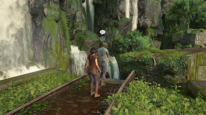 This conversation is easy to find - 8 - Partners | Secrets - Secrets - Uncharted: The Lost Legacy Game Guide