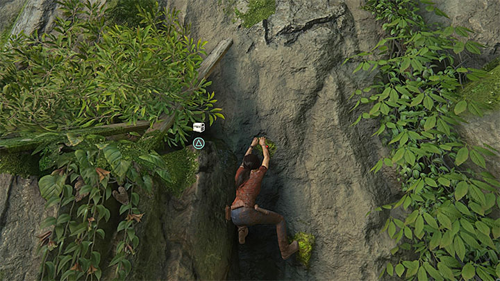 You can find this collectible after you have taken a series of uncontrollable slides down - 8 - Partners | Secrets - Secrets - Uncharted: The Lost Legacy Game Guide