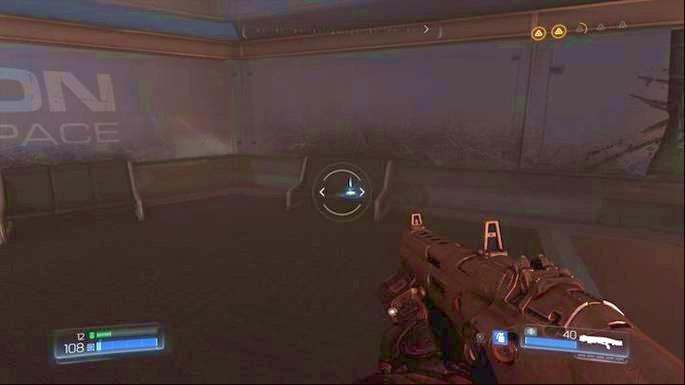Используйте Automap на правой стороне комнаты после битвы с первыми мизинцами - Уничтоженный Серебряный Объект |  Секреты - Секреты - Руководство по игре в Doom и прохождение