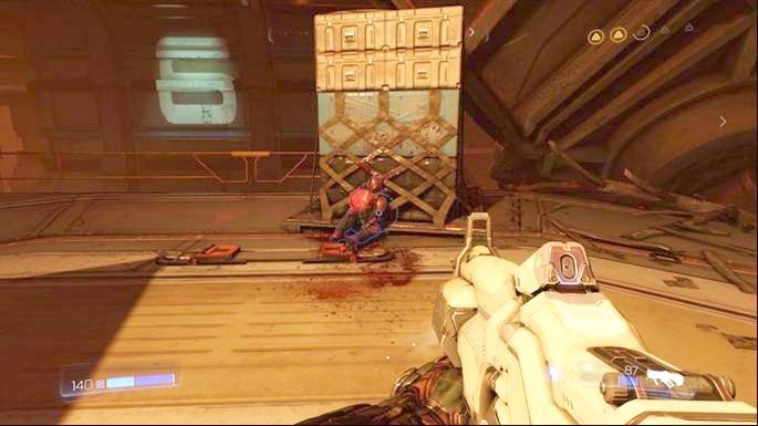 Вскоре после того, как вы получите задание вернуть желтый ключ, появится большая группа демонов - Destroyed Argent Facility |  Секреты - Секреты - Руководство по игре в Doom и прохождение
