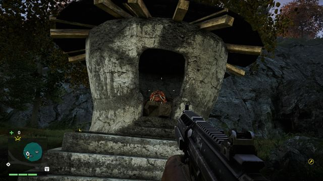 To the right of the stairs, you will notice a few dead bodies - Southern and central Kyrat - Yalungas Masks - Far Cry 4 - Game Guide and Walkthrough