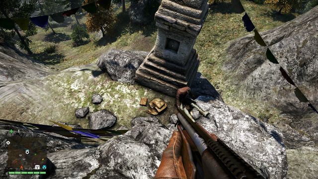 Head south from the camp and go down - Northern and north-eastern Kyrat - Lost Letters - Far Cry 4 - Game Guide and Walkthrough