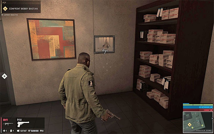 Look in the office, in which you have confronted Bobby Bastian - Vargas paintings   Secrets - Secrets - Mafia III Game Guide