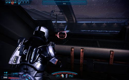 Cranial trauma system II (pistol) - outside of the facility, next to the jammed door forced by ravager and husks - Mahavid - Walkthrough - Mass Effect 3: Leviathan - Game Guide and Walkthrough