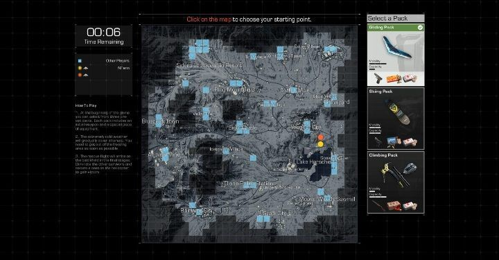 When playing with a friend, you can both choose where you want to start a match - Can you play in two-person teams in Ring of Elysium? - FAQ - Ring of Elysium Guide and Tips
