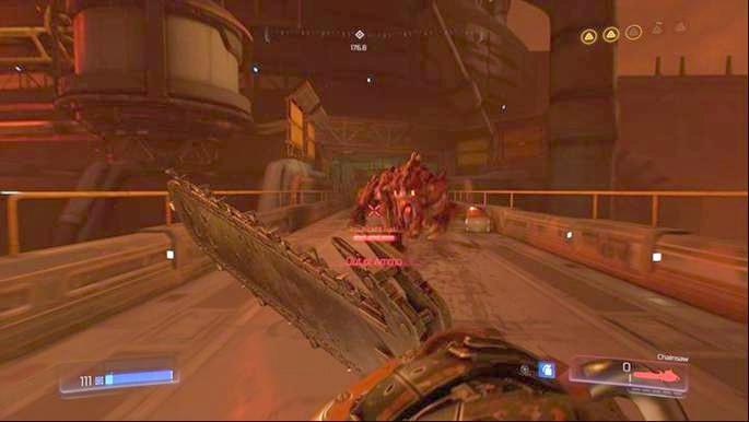 После поиска последнего охранника вы доберетесь до новых врагов - Destroyed Argent Facility |  Секреты - Секреты - Руководство по игре в Doom и прохождение