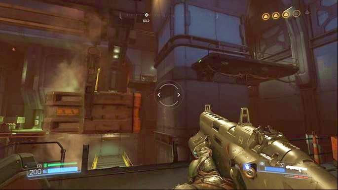 Как только он полетит к стене справа, запрыгните на него, а затем прыгните на платформу справа - Уничтоженный Серебряный Объект |  Секреты - Секреты - Руководство по игре в Doom и прохождение