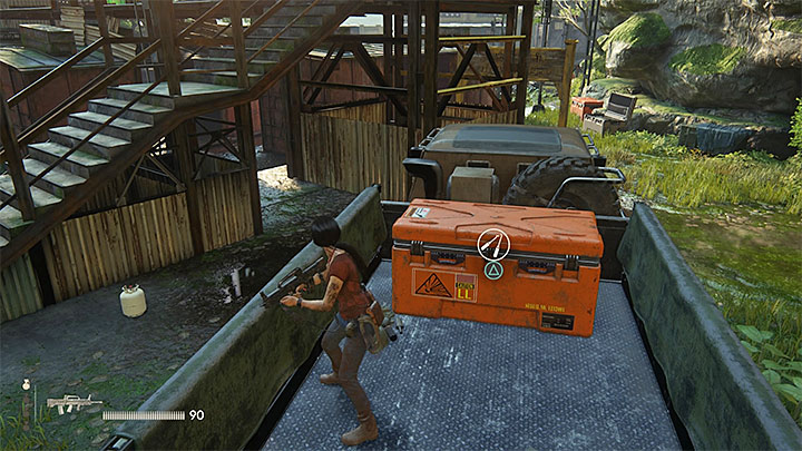The second crate is in the right part of the train station - 8 - Partners | Secrets - Secrets - Uncharted: The Lost Legacy Game Guide