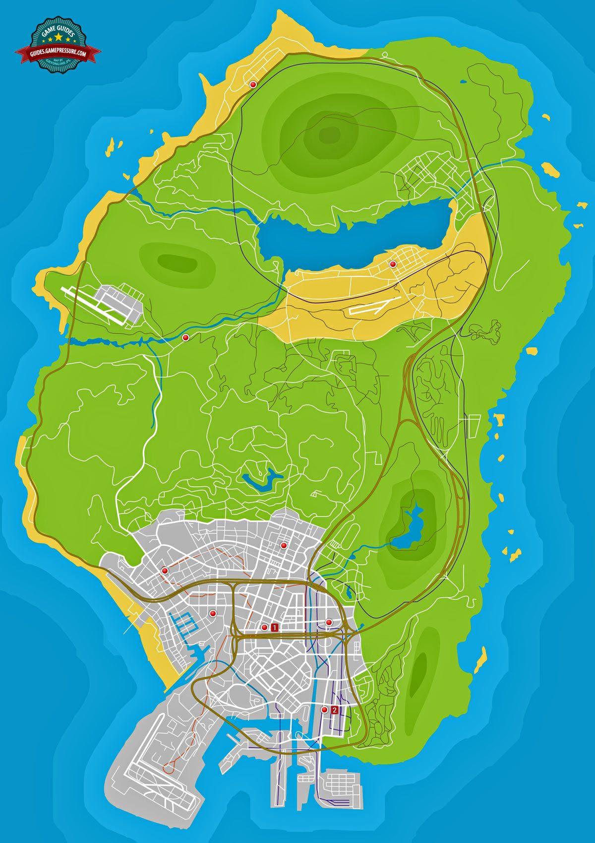 GTA V Map - Ammu-Nation