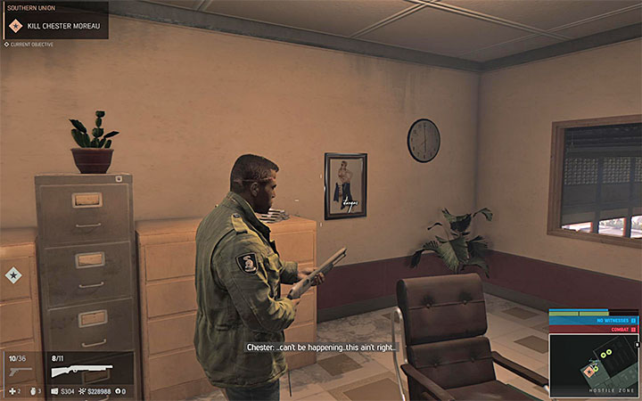 The painting is located on the floor of The Bellaires supermarket - Vargas paintings   Secrets - Secrets - Mafia III Game Guide