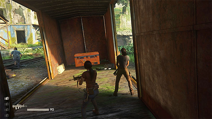 You are going to need two rockets - Right Under Your Nose | Trophy Guide - Trophy Guide - Uncharted: The Lost Legacy Game Guide