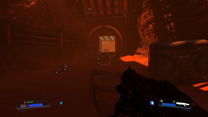 За ним вы найдете рычаг, который откроет переход к Классической карте - UAC |  Секреты - Секреты - Руководство по игре в Doom и прохождение