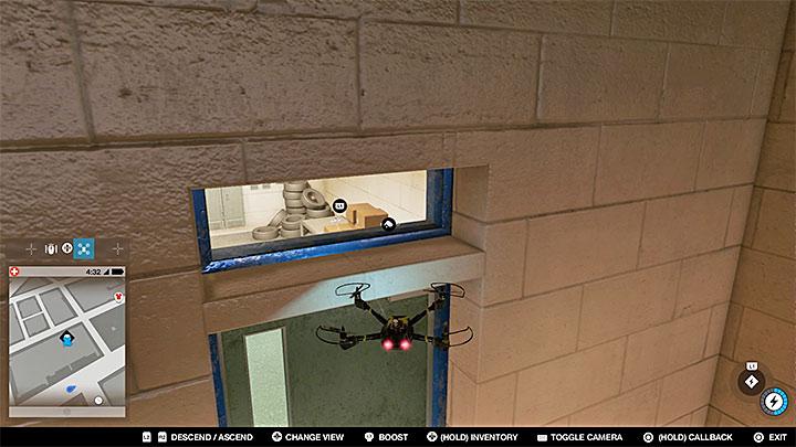 Эта исследовательская точка находится в закрытом помещении, расположенном в районе подземного паркинга - Точки исследования - карта, локации 1-61 - Коллекционирование - Руководство по наблюдению за собаками 2
