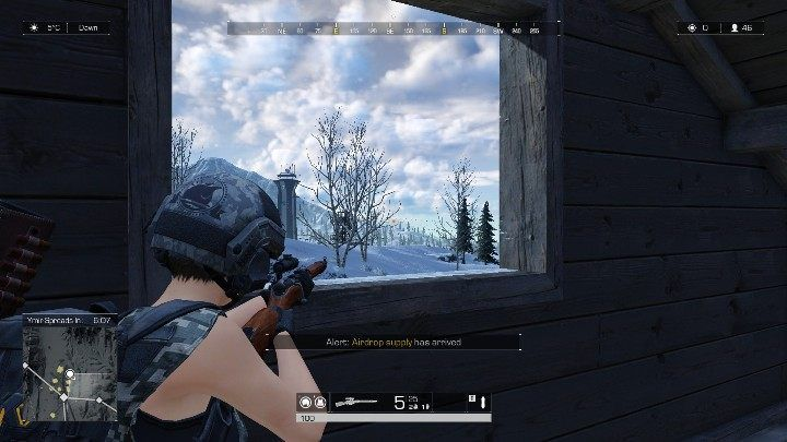 Mosin Nagant - bullets shot from this rifle will start dropping after traveling 300 meters - The best weapons available in Ring of Elysium - Weapons and equipment - Ring of Elysium Guide and Tips