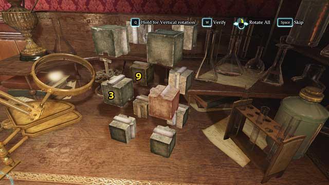 Поменяйте местами номера 3 и 9 и поверните их так, чтобы их гладкие края были направлены наружу - Найдите оружие - Кровавая баня - Шерлок Холмс: Преступления и наказания - Руководство по игре и прохождение игры