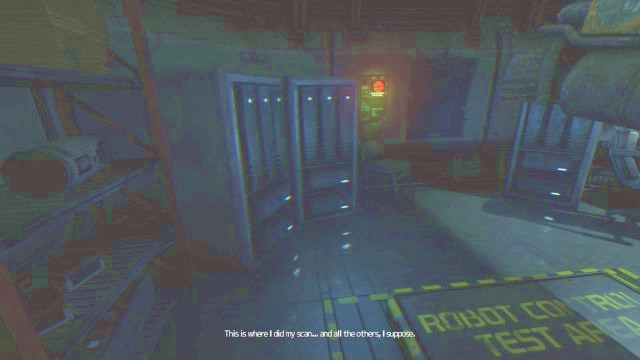 Data Buffer will provide you with interesting information. - Theta station | Collectibles in SOMA Game - Collectibles - SOMA Guide