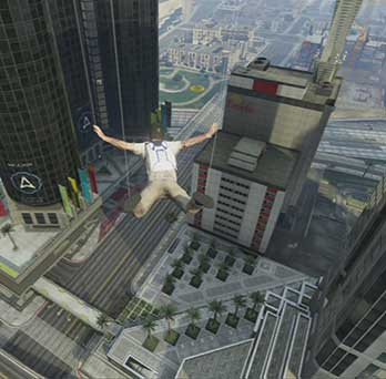 I fly cause I want... - Parachute Jumps   Activities - Activities - Grand Theft Auto V Game Guide