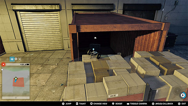You need to infiltrate a small square, which is a restricted area - Key data - locations from 1 to 12 - Collectibles - Watch Dogs 2 Game Guide