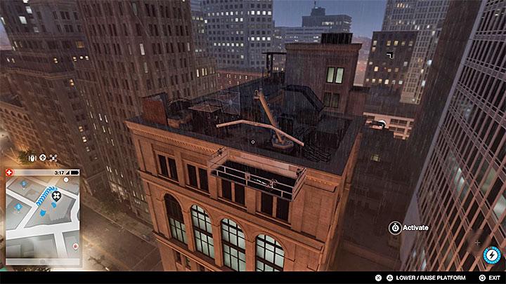 Этот секрет находится на крыше здания - Покраска рабочих мест, одежды и уникальных транспортных средств - Коллекционирование - Руководство по игре Watch Dogs 2