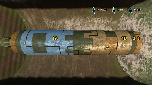Поверните все так, чтобы вы могли видеть два высоких окна - Найдите и осмотрите секретный замок в поместье Ноттинг Хилл - Прогулка по полумесяцу - Шерлок Холмс: Преступления и наказания - Руководство по игре и прохождение игры