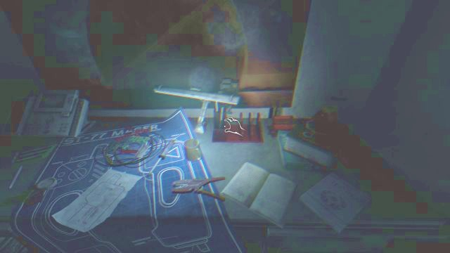 Some rooms dont have a light, so you have to help yourself with your flashlight. - Theta station | Collectibles in SOMA Game - Collectibles - SOMA Guide