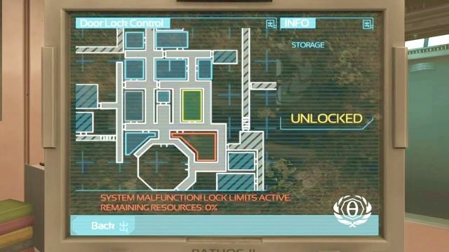Its safer to open up the doors from the terminal. - Theta laboratory | Riddles and puzzles of SOMA Game - Riddles and puzzles - SOMA Guide