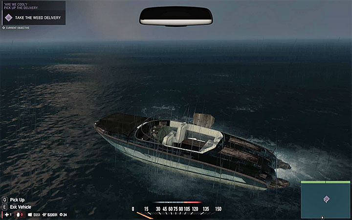 Swim towards the dropped cargo and take it on the boat - Racket-related missions - Optional missions - Mafia III Game Guide
