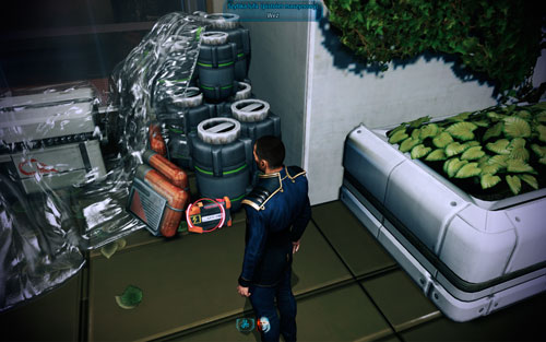 Ultralight Materials I (pistol) - behind the tree on the balcony - Dr. Brysons Lab I - Walkthrough - Mass Effect 3: Leviathan - Game Guide and Walkthrough