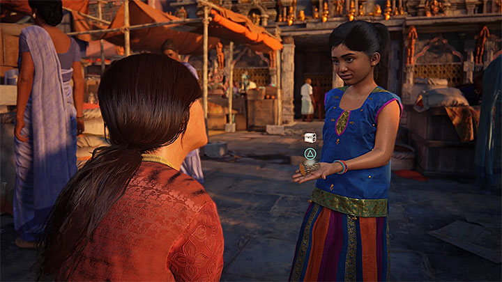 Retrieve the figurine stolen by Meenu - 0 - Prologue | Secrets - Secrets - Uncharted: The Lost Legacy Game Guide