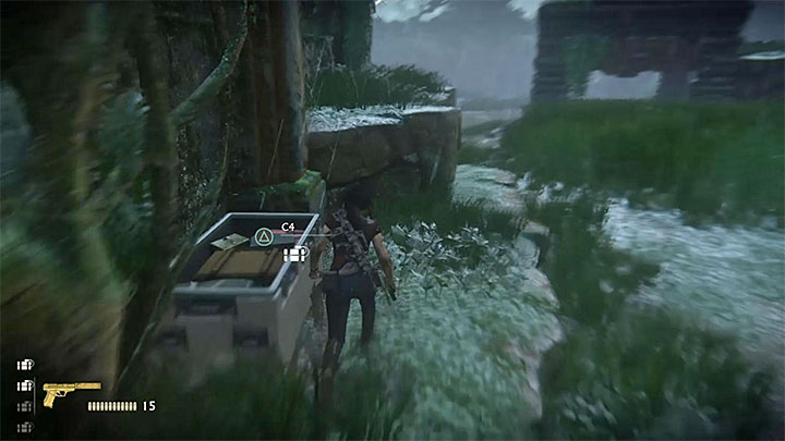 From now on, try to avoid being spotted by both the APC and the mercenaries around (watch out for one standing on rooftops, they have a greater range of fire) - Overkill Trophy | Trophy Guide - Trophy Guide - Uncharted: The Lost Legacy Game Guide