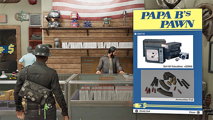 Pawn shops allow you to sell minor items that you find - How to get money and followers in Watch Dogs 2? - The Basics - Watch Dogs 2 Game Guide