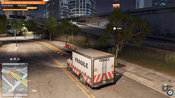 Каждая задача Driver SF индивидуальна, например, вас могут попросить осторожно управлять автомобилем - Общие советы - Основы - Руководство по игре Watch Dogs 2