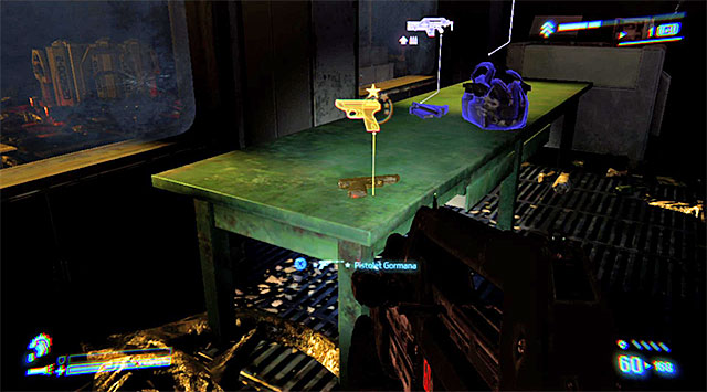 LEGENDARY WEAPON 2/6 (Gormans Pistol) - Literally seconds before the end of the mission - Legendary Weapons - Collectibles - Aliens: Colonial Marines - Game Guide and Walkthrough