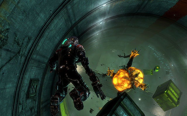 Двигайтесь вперед, пока не достигнете бункера с невесомостью - Исследуйте хранилище артефактов    Побочные миссии: Хранение артефактов - Побочные миссии: Хранение артефактов - Dead Space 3 Game Guide