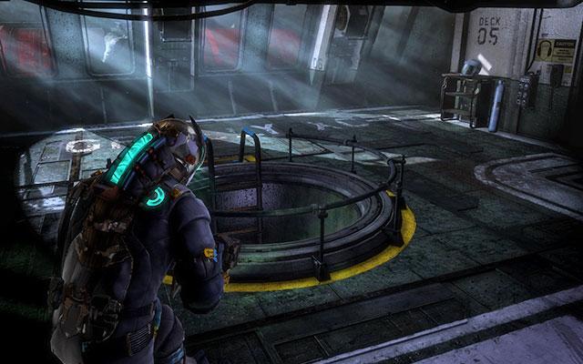 Пройдите в следующие двери, пока не дойдете до комнаты с лестницей в центре - Исследуйте Greely    Побочные миссии: CMS Greely - Побочные миссии: CMS Greely - Dead Space 3 Руководство по игре
