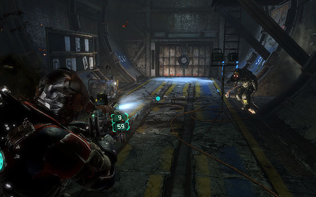 Move ahead, walking over the next part of the tunnel until you reach the elevator which will take you up - Recover anything that survived the purge   Side missions: Disposal Services - Side missions: Disposal Services - Dead Space 3 Game Guide