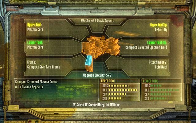 Каркас - это основа любого оружия - Верстак |  Советы - Советы - Dead Space 3 Руководство по игре