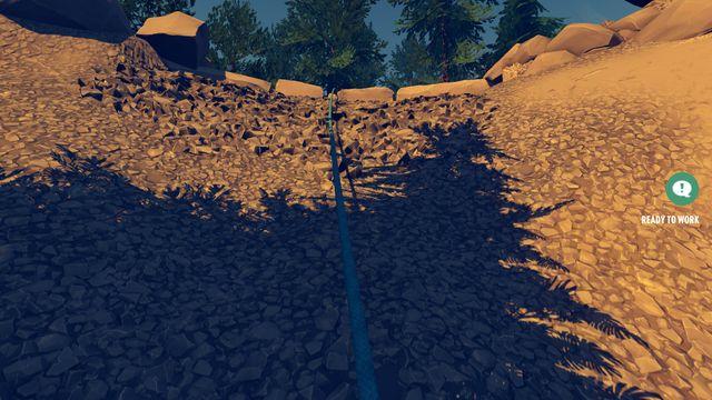 В некоторых местах есть места, которые Генри не может пересечь - Движение и доступные навыки - Основы - Firewatch - Руководство по игре и прохождение